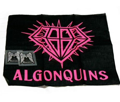 Algonquins and Decoart Handkerchief and Sticker Set