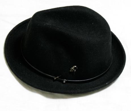 Gadget Grow Black Felt Hat