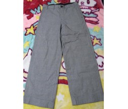 Gadget Grow Wide Leg Check Pants