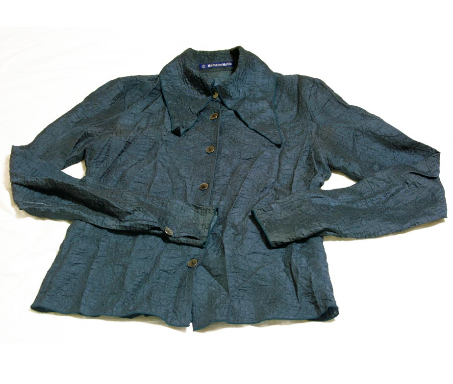 Moi Meme Moite Blue Button Up Shirt - Tenshi Shop