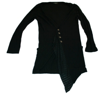Black Peace Now Fringe Cardigan