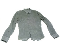 Gadget Grow Sheer Fabric Button Up Shirt