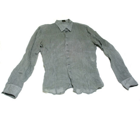 Gadget Grow Sheer Fabric Button Up Shirt