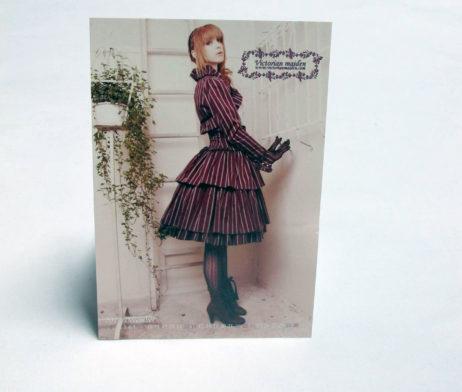 Victorian Maiden Regimental Postcard