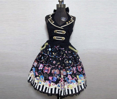 Angelic Pretty Fantasy Theater Gilet JSK