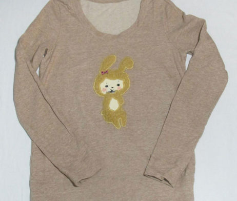 Franche Lippe Fuzzy Bunny Top