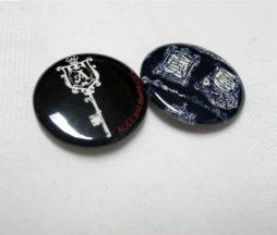 Alice and the Pirates Key and Banner Pin Set