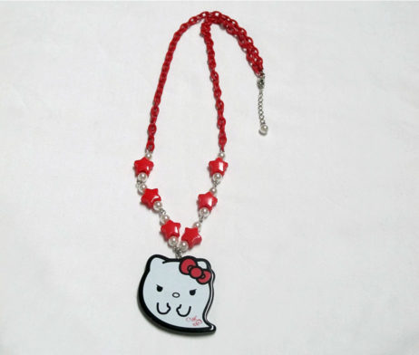 Angelic Pretty Hello Kitty Monster Necklace