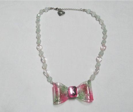 Angelic Pretty Aurora Ribbon Necklace
