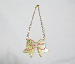 Angelic Pretty Tokimeki Ribbon Necklace Yellow