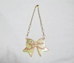 Angelic Pretty Tokimeki Ribbon Necklace Yellow