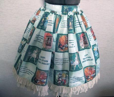 Baby the Stars Shine Bright Ex Libris the Dolls (Pinocchio) Skirt