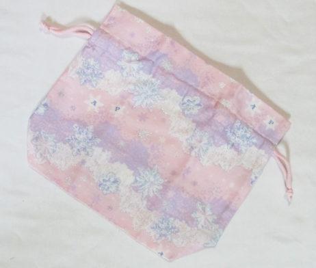 Angelic Pretty Sugar Dream Dome Drawstring Bag Pink