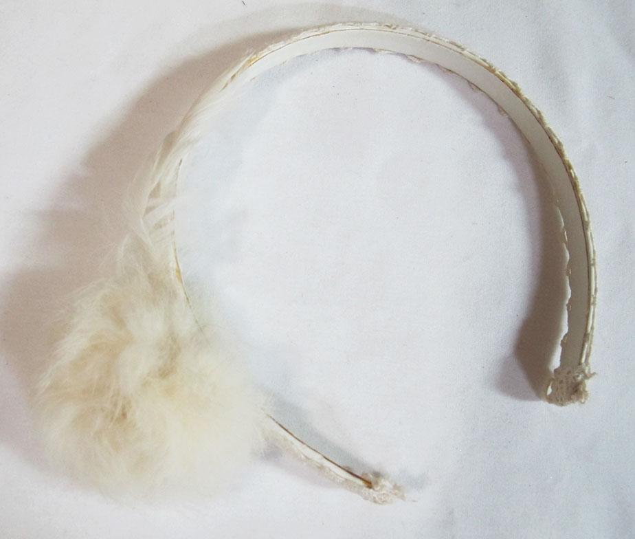 H. Naoto Gramm Cotton Tail Headbow