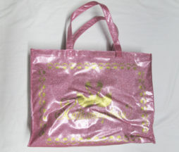 Metamorphose Swan Logo Glitter Bag
