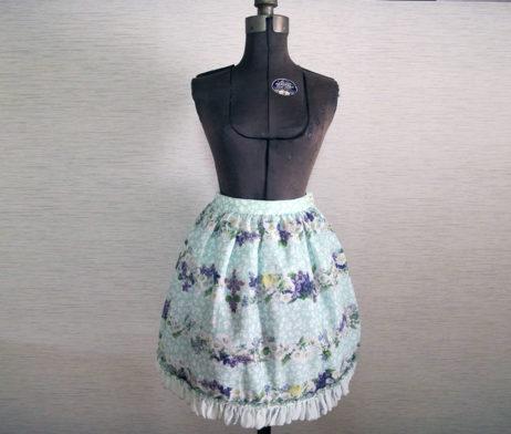 Baby the Stars Shine Bright Easter Bunny's Spring Garden Skirt