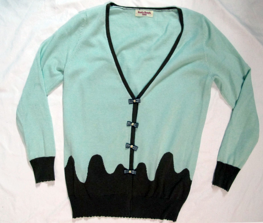 Emily Temple Cute Melty Long Knit Cardigan