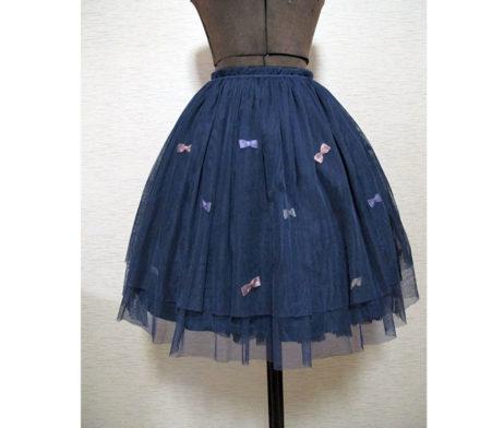 Swimmer Tulle Ribbon Skirt