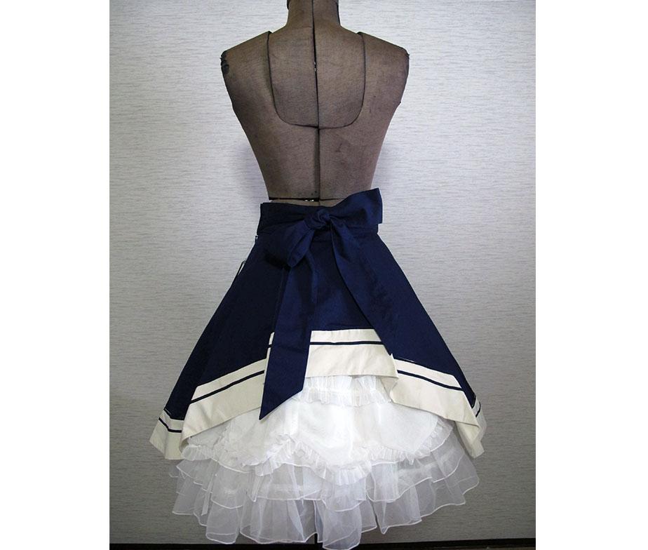 Victorian Maiden British Marine Bustle Skirt