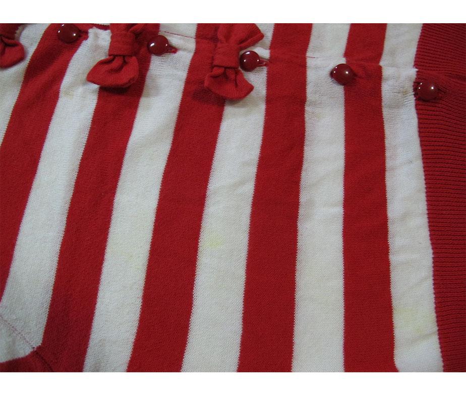Angelic Pretty Short Sleeve Ribbon Border Cardigan