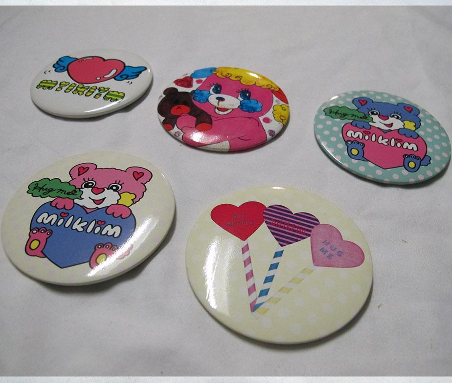 Milklim Five Pin Badge Set