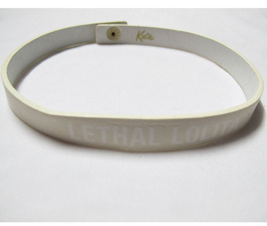 Katie Leathal Lolita Choker/Bracelet