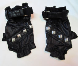 Sixh H. Naoto Fingerless Studded Gloves