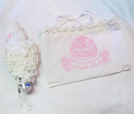 Angelic Pretty Folding Cake Umbrella