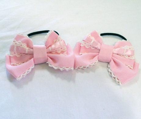 Angelic Pretty Pink Ribbon Hair Bands