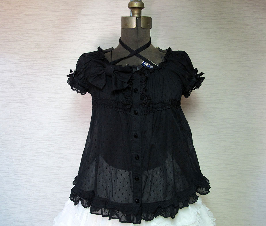 Angelic Pretty Square Neck Tunic Style Blouse