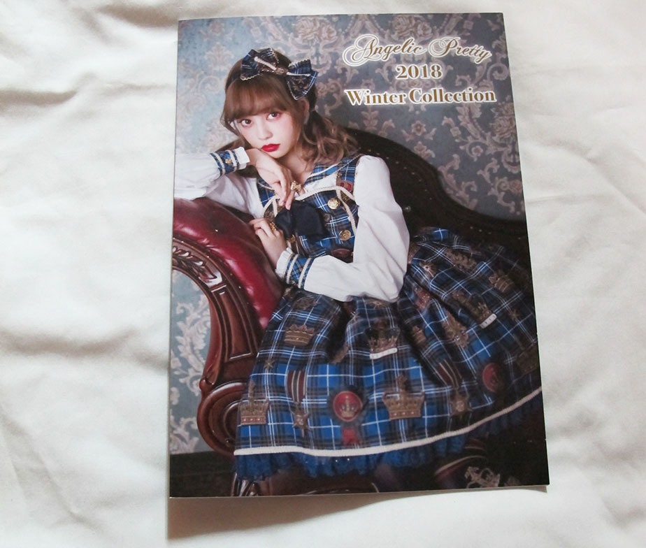 Angelic Pretty 2018 Winter Collection Book