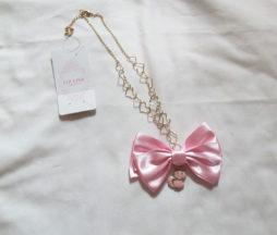 Liz Lisa Ribbon Cat Necklace