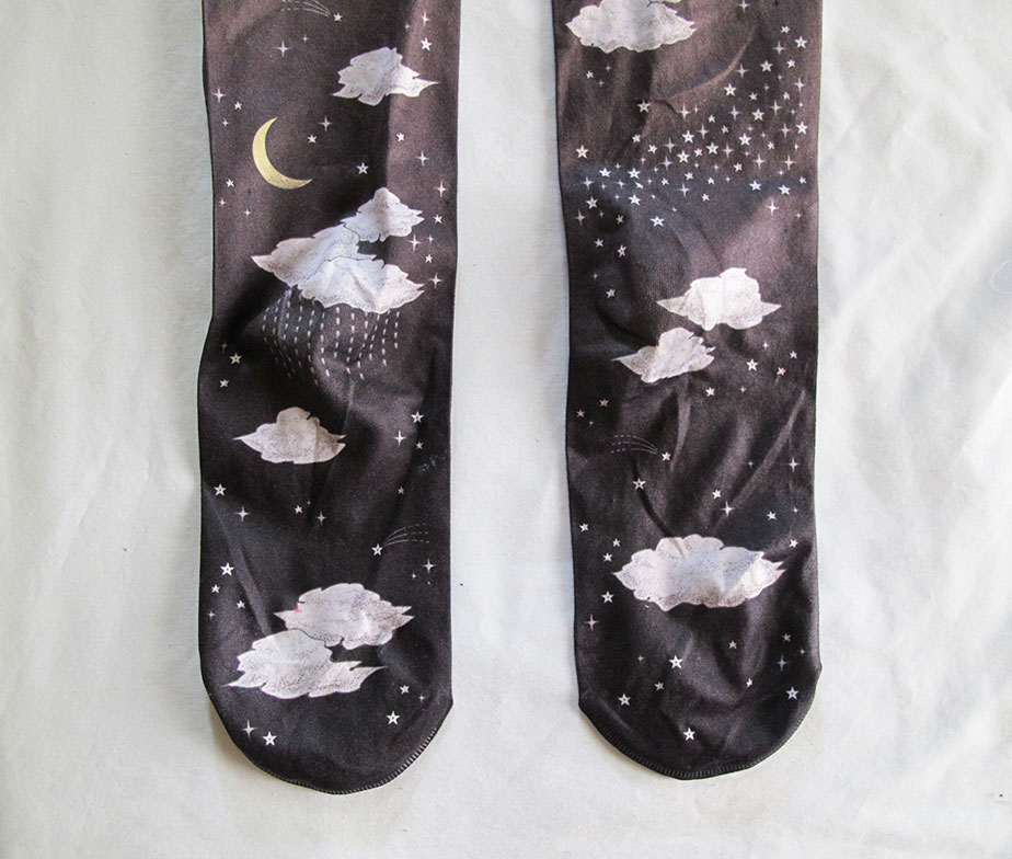 MeloMoon Cloudy Sky Tights