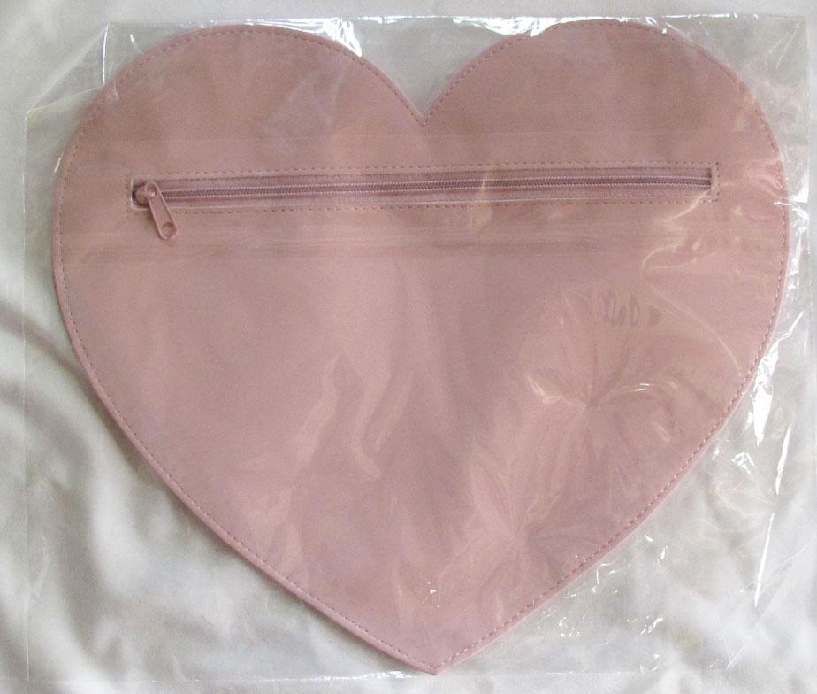MILK Heart Pouch Pink