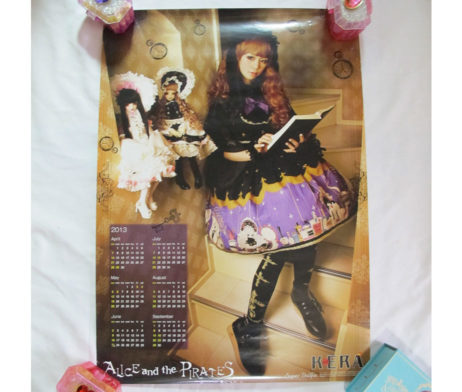 Alice and the Pirates Marionette in My Closet Room Super Dollfie Poster