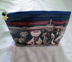 Angelic Pretty British Bear Pouch Navy