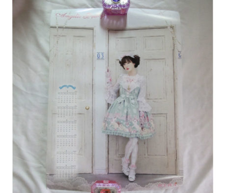 Angelic Pretty Romantic Cat Poster