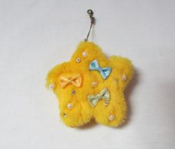 Fluffy Star Charm