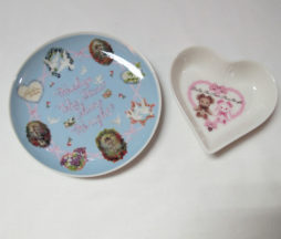 Baby the Stars Shine Bright Plate and Heart Dish Set