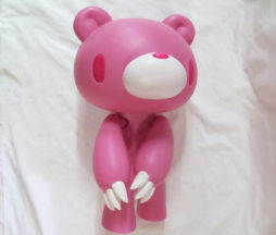 Extra Large Posable Pink Gloomy Bear