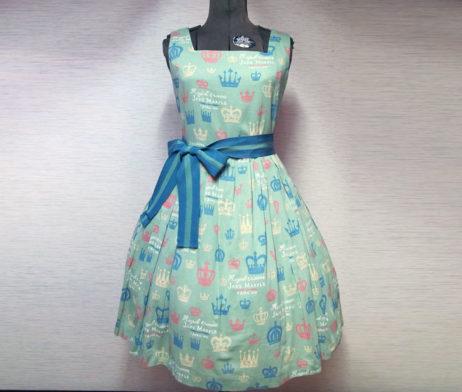 Jane Marple Royal Crown Square Dress