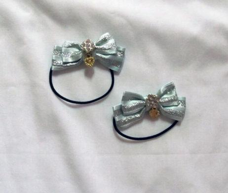 Baby the Stars Shine Bright Mini Stripe Ribbon Hair Bands