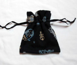 Alice and the Pirates Crests Pouch