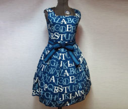 Jane Marple Alphabet Logo Square Dress (JSK)