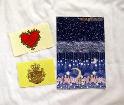Baby the Stars Shine Bright Le Ciel Etoile Postcard and Logo Stickers