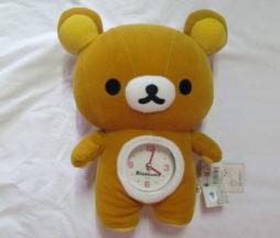 Rilakkuma Clock Plush