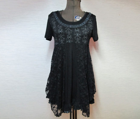 GRAMM Patterned Lace Top