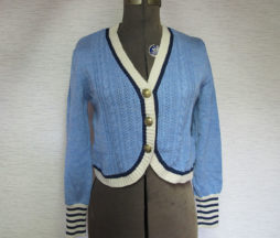 Jane Marple Blue Cardigan