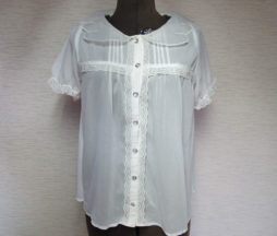 Kokokim Angel Wing Collar Blouse