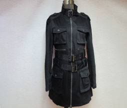Black Peace Now for Men Cargo Coat
